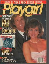 Playgirl March 1986 Phil Barone Brian Pockar Sally Field Princess Diana /Charles