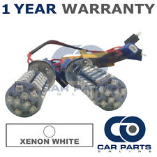 2X CANBUS XENON WHITE H1 60 SMD LED MAIN BEAM BULBS FOR VAUXHALL INSIGNIA VECTRA