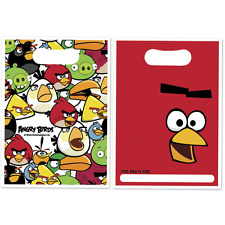 Angry Birds Loot Bags Childrens Party Decoration Tableware
