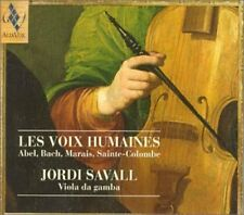 Les Voix Humaines. Works For Lyra Viol & Bass Viol - Jo (1998, CD NEUF) Savall (