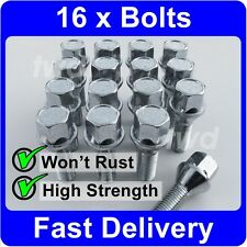 16 x ALLOY WHEEL BOLTS FOR BMW MINI (2001-06) R50/R52/R53 COOPER LUG NUT [1H]