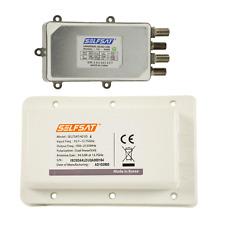 SelfSat Sat LDU4 Quad LNB für H21D Antennen mit 4 Ausgängen