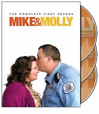Mike and & Molly CBS TV Series Complete All Season 1-5 DVD Set R1 Collection Lot