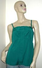$188 NWT Marc by Marc Jacobs Island Green Striped Bow Camisole Top 10