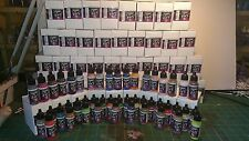 Vallejo Game Air Full Range of 51 Acrylic Paint Set 17ML Bottles Model Airbrush