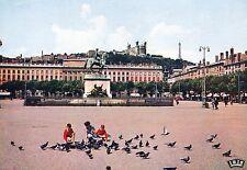 Alte Postkarte - Lyon - Place Bellecour