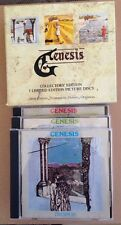 Genesis - Trespass Nursery Cryme Foxtrot 3x Cd Box Set Very Rare Phil Collins