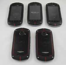 5 Casio G'zOne C771 Commando Verizon Cell Phone Lot Internet