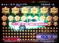 "Wangan Maximum Tune 3DX+ ""107955 star 39542 coin"" 825hp 63Lv DressUp RX7 FD3S"