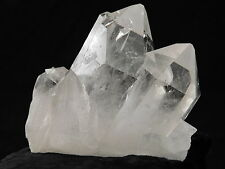FOUR! Entwined Super Beautiful AAA Quartz Crystals in a BIG Cluster Brazil 593gr