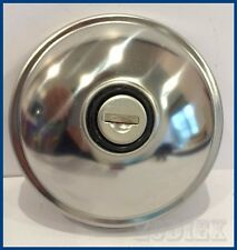 NEW Stainless Steel Vented Locking Fuel Cap - Ford Cortina Mk1
