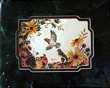 """8"""" X 10"""" Robin Hidden Verse Bird Double Matted Picture W/Free USA Shipping - New"""