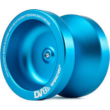 Aqua Blue DV888 Responsive Metal Yo Yo From The YoYoFactory + 3 NEON STRINGS
