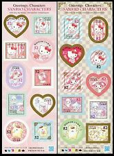 Japan 2016 Hello Kitty My Melody LittleTwinStars Sanrio Characters MNH