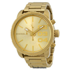 NEW DIESEL WATCH MEN * Chronograph * All Gold Stainless Steel * DZ4268 MSRP $240