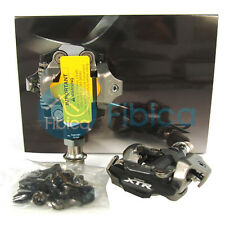 New 2015 Shimano XTR Race PD-M9000 SPD Mountain MTB Clipless Pedals with Cleats