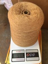 blend with 55% merino wool 15% cashmere 30% nylon yarn cone in toffee