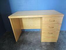 Oak Straight Desk (086-EE7-DAD)