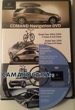 2006 MERCEDES M ML ML350 ML500 4MATIC AWD SUV COMAND NAVIGATION MAP DISC CD DVD