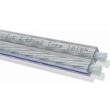OEHLBACH 1019 Silverline25 2x2,5mm² versilbertes Lautsprecher-Kabel Meterware 1m