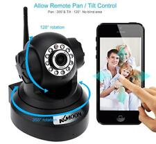 KKMOON P2P WiFi Wireless IR Cut Night Vision 1MP Network IP Camera Pan Tilt TU3C