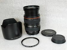 Canon EF 28-70mm f/2.8 L USM Lens, RocketFish RF-UV77S 77mm Filter EW-83BII Hood