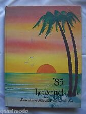 1985 WILLIAM R. BOONE HIGH SCHOOL YEAR BOOK ORLANDO, FLORIDA   LEGEND  UNMARKED!