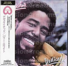 Barry White DEDICATED 1996 Unlimited Gold JAPAN DELUXE MLPS CD OOP RARE
