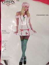 Strawberry Girl Halloween Costume Size X Large