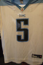 NFL Jersey's Youth Reebok Kerry Collins Navy Tennessee Titans Replica Jersey