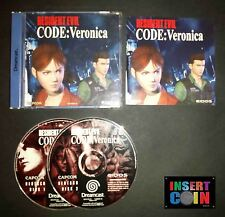 JUEGO DREAMCAST RESIDENT EVIL - CODE VERONICA  (PAL / ALEMAN!!) GERMAN LANGUAGE