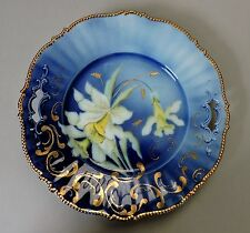 Lovely RS Prussia decorative Cobalt Cake Plate