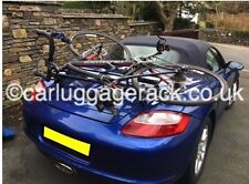 Porsche Boxster 987 986 981 Bike Rack & Boot Rack - Stunning Black Italian Rack