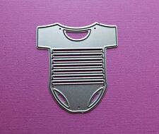 Die cutting - matrice de coupe - baby body - vetement bebe enfant