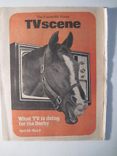 Louisville Times TV Scene. (1975) 101st Kentucky Derby! Belle Of Louisville!