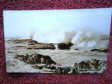 SNAPPER  ROCKS  POINT DANGER  REAL PHOTO   POSTCARD  {62}