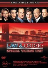 Law and Order: Special Victims Unit : Season 1 (DVD, 2008, 6-Disc Set)