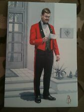Military Postcard 1st Worcestershire & Sherwood Foresters 1993 by Alix Baker