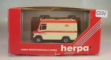 Herpa 1/87 041867 Mercedes Benz 609 D RTW ASB Arbeiter Samariter Bund OVP #5354