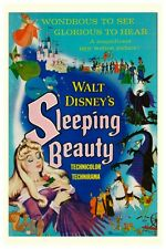 WALT DISNEY'S SLEEPING BEAUTY MOVIE POSTER -  12 x 18