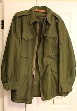 ORIGINAL UNWORN VINTAGE KOREAN WAR DATED 1952 US ARMY M-1951 FIELD JACKET SHELL