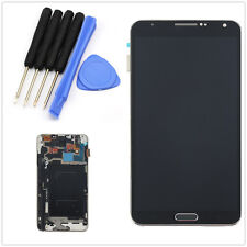 Full LCD Touch Screen Glass Digitizer Frame For Samsung Galaxy Note3 N9005 Black
