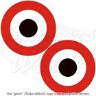 JEMEN Jemenit Luftwaffe Flugzeug Roundel 75mm Vinyl Sticker Aufkleber x2