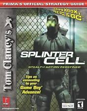 Tom Clancy's Splinter Cell (PS2, Xbox, PC and GC) (Prima's Official Strategy Gui