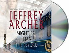 Jeffrey Archer MIGHTIER THAN THE SWORD Unabridged CD *NEW* FAST Ship!