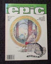 1985 EPIC ILLUSTRATED Magazine v.1 #28 VF+ John Byrne Galactus