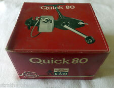 Vintage D-A-M quick 80 Reel Made in W. Germany Mint Boxed etc Unused C1980's