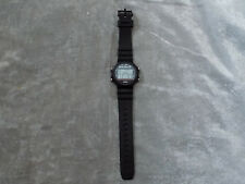 Blackjack LCD Watch Play Time Day Date Double Bet Hit Stand New Battery!