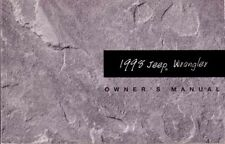 1998 Jeep Wrangler Owners Manual User Guide