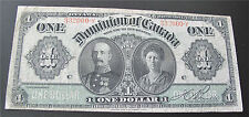 1911 DOMINION OF CANADA $1 DOLLAR BANKNOTE  DC-18d-i prefix 332000-Y